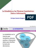 Datos & Información - Estadistica & Tecnicas Cuantitativas