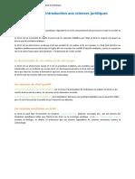 Résumé Introduction Générale à l27étude de Droit