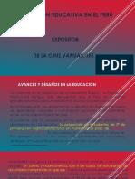 La Educacion en El Peru 2018 Dj