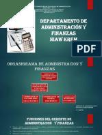 Administracion y Finanzas