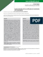 Elia Lara - Validación de la información obtenida de los certificados de nacimiento en el Hospital General de Guanajuato