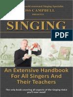 SINGING. an Extensive Handbook for All Singers and Their Teachers 2