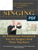 SINGING. an Extensive Handbook for All Singers and Their Teachers 2