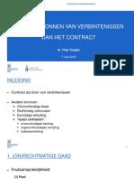 Gastcollege 7 Mei 2019 - Verbintenissenrecht - UGent - Thijs Tanghe (1)