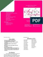 Steel Magnolias - Program