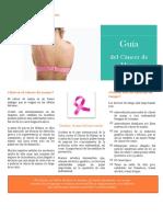 Guía sencilla para prevenir cáncer de mama