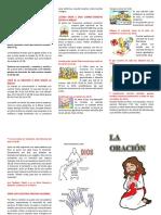 folleto oracion