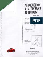 Introducción a La Mecánica de Fluidos-Robert W. FOX