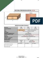 Bloque Perforacion Vertical RE05