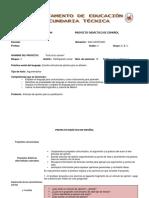 Proyecto 14 Articulo de Opinión 3 Grado v Bim.