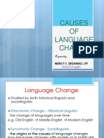 Causes of Language Change_mercy t. Segundo