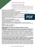 Resumen Primer Parcial Historia de La Psicología Dagfal 1