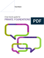 Private Foundations Tax Guide