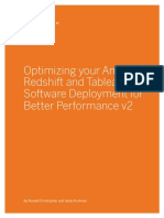 Optimizing Tableau Aws Redshift Whitepaper
