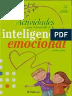 343917242 Actividades Para El Desarrollo de La Inteligencia Emocional en Ninos