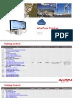 AltaiCare Training Notes v2.1