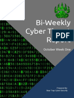 bear trap october 1st monthly report
