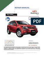 manual de servicio XUV500