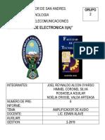 Formato de Presentacion Informe