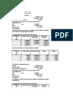 Amortización costo de capital