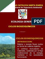 Clase - Ciclos Biogeoquimicos