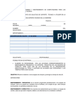 PROCESOS DE SOPORTE TECNICO PARA EL MANTENIMIENTO DE EQUIPOS DE COMPUTO EVALUACION SEMANA 2