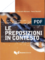 Marina Frescura, Marcello Marzano, Nevin Pecorelli - Le Preposizioni in Contesto-Guerra Edizioni (2008)