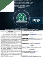 Boletim Informativo PNNP 2019