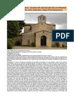 Arte Prerrománico - Iglesia de San Julián de Los Prados (Alta Edad Media. Arte Asturiano. Etapa Prerramirense)
