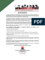 20oct2019 - Comité Central - Demandas de Emergencia