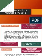 Implementación NOM-035-STPS-2018