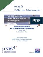 RDN Un Renouveau Pour La Recherche Stratégique 2010