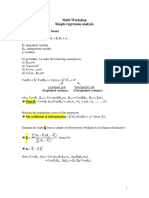 WS Simple Regression Analysis Download