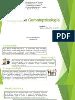Modelos en Gerontopsicología