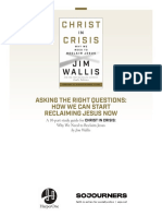 Christ in Crisis by Jim Wallis — Book Study Guide