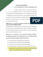 Balotario, Tema, Biocomercio..