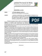 Carta N° 001-2019 Primera Constatación