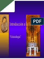 Introducción a la Eclesiología