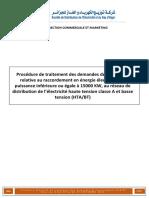 Procédure de Traitement Des Demandes de La Clientèle HTA-BT