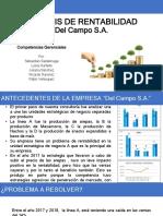 Rentabilidad Arepas Del Campo