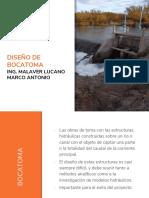 03 INF_ DISEÑO DE BOCATOMA.pptx