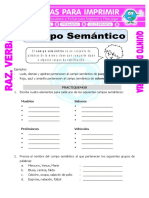 guía campo semántico