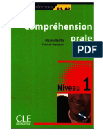Comprehension Orale 1 a1 a2