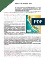 Factores Climáticos Del Perú Imprim