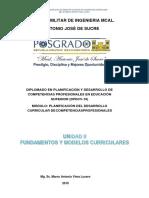 Dossier Unidad II DISEÑO CURRICULAR