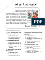 Leemos Una Noticia_el Perù Esta de Fiesta