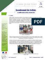 CERTU Fiche 3_1 Encombrement Des Trottoirs MOBILIER