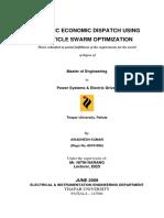 mastere-dynamic economic dispatch using PSO.pdf