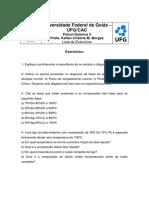 Lista de exercicios fisicoquimica diagrama de fases