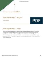 Ramananda Raya _ Gaudiya History